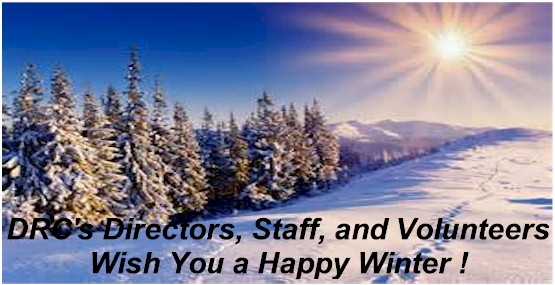 Happy Winter From DRC Staff