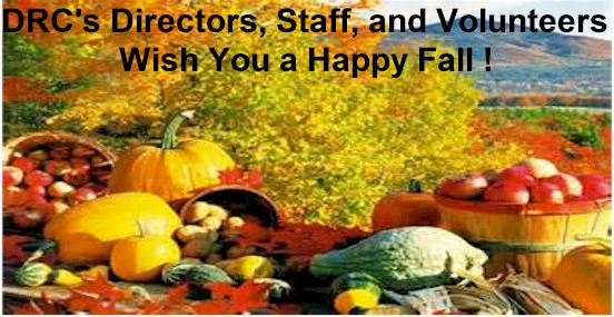 Happy Fall From DRC Staff